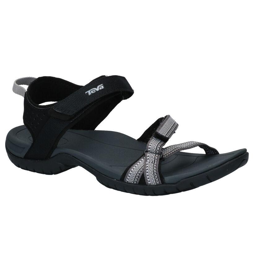Teva Verra Zwarte Sandalen in stof (270635)