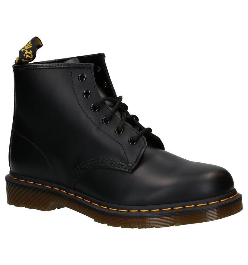 Dr. Martens Zwarte Boots in leer (277090)