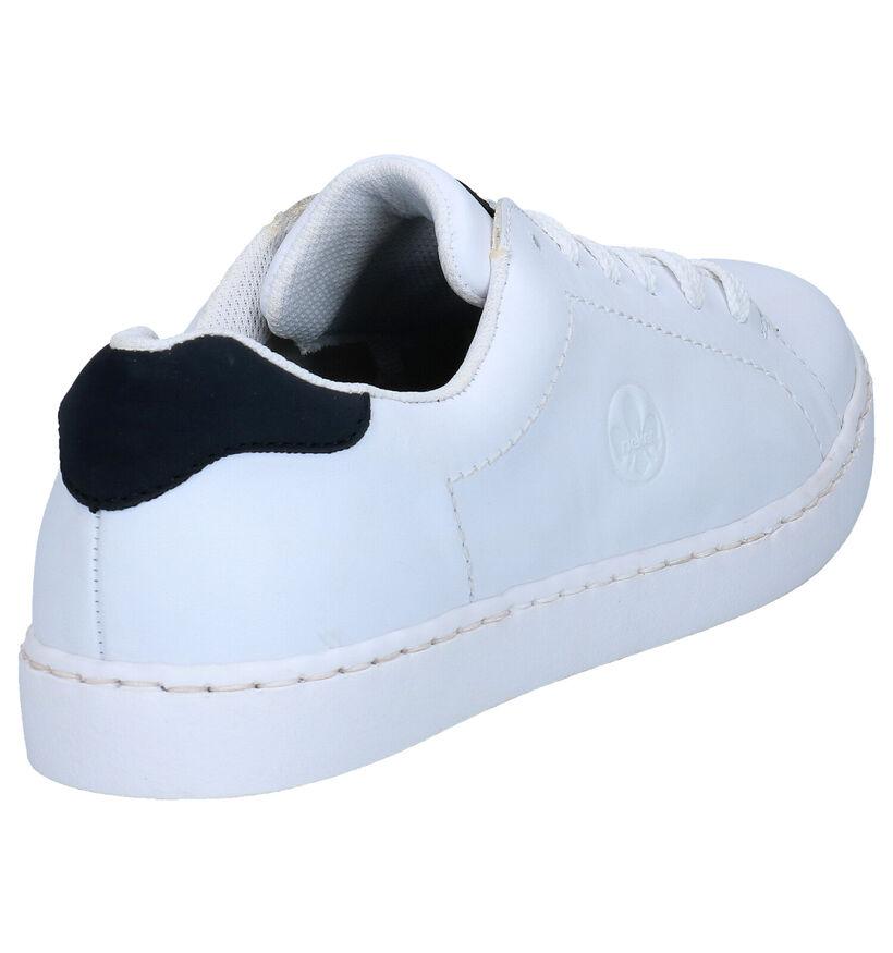 Rieker Chaussures basses en Blanc en cuir (273584)