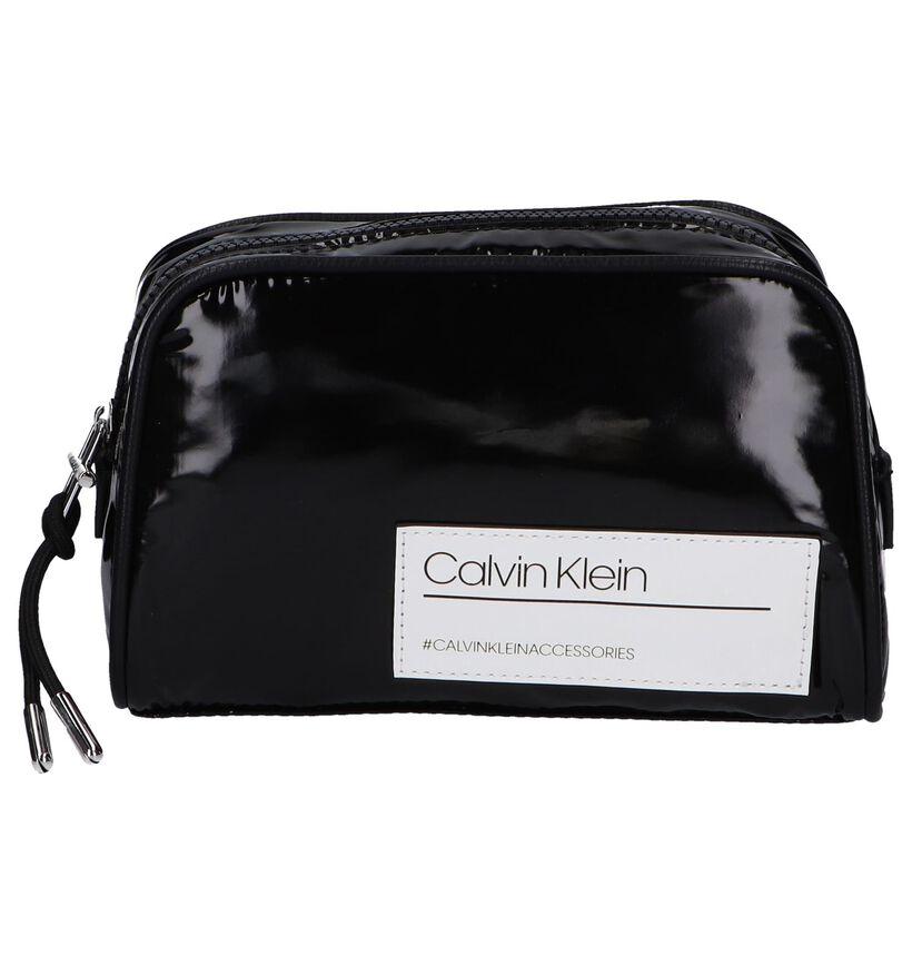 Zwart Make-Up Tasje Calvin Klein Bind in kunststof (257301)