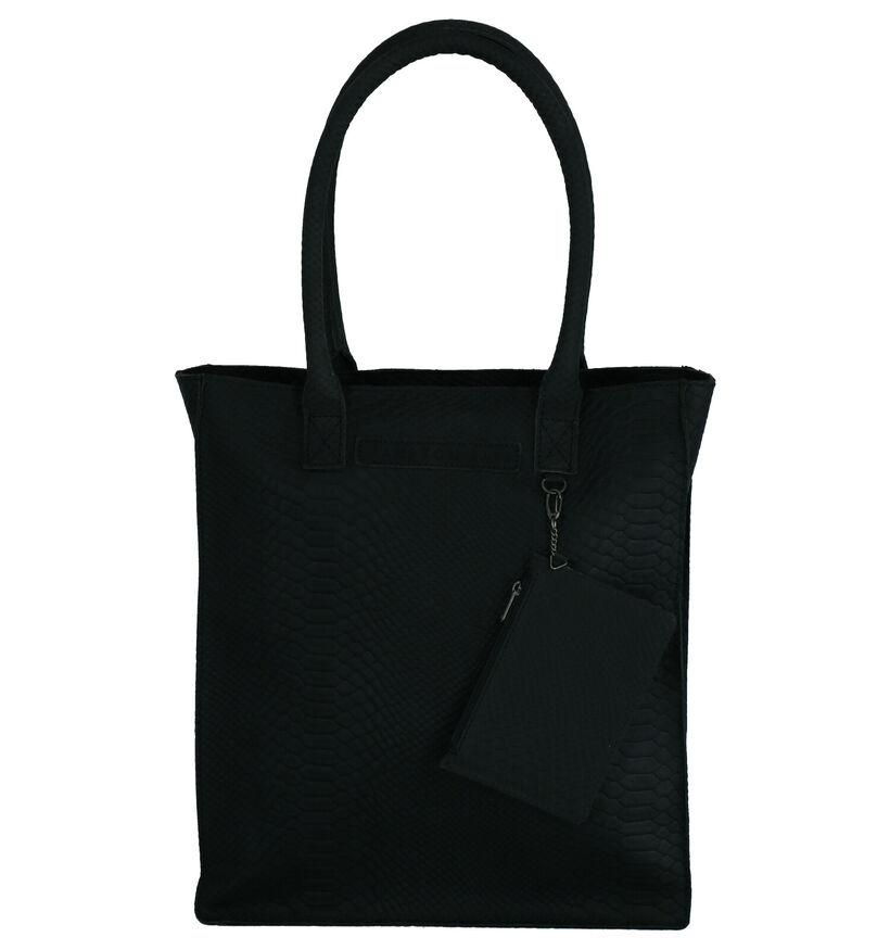 Hampton Bays Zwarte Shopper Tas in leer (263290)