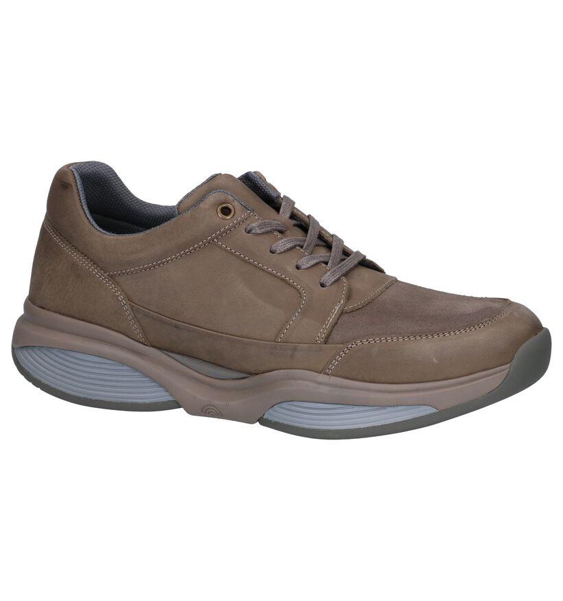 Xsensible Chaussures basses en Taupe en nubuck (246719)