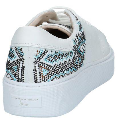Tosca Blu Witte Sneakers met Dikke Zolen, Wit, pdp