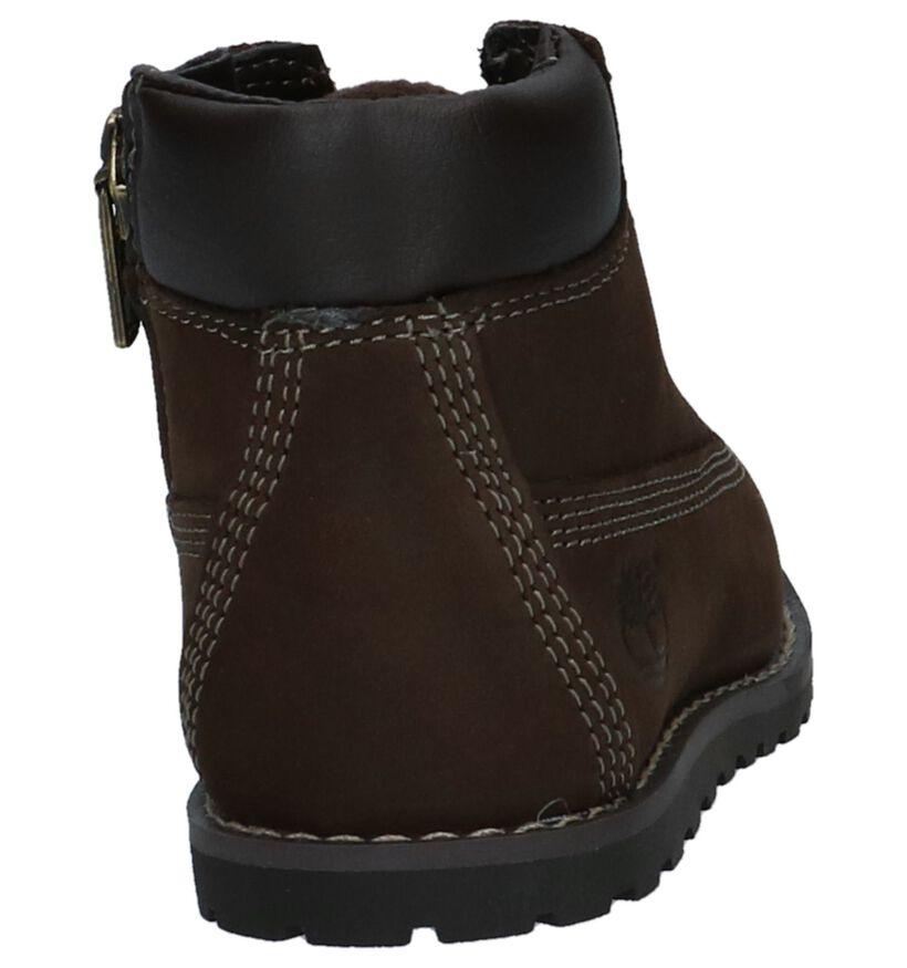 Timberland Pokey Pine Chaussures hautes en Brun foncé en nubuck (223621)