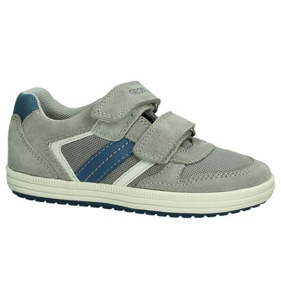 Taupe Velcroschoenen Geox, Taupe, pdp