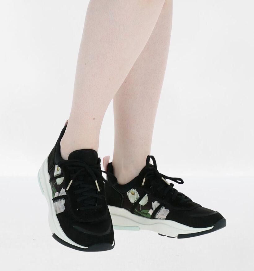 Ted Baker Keaton Zwarte Sneakers in daim (276068)