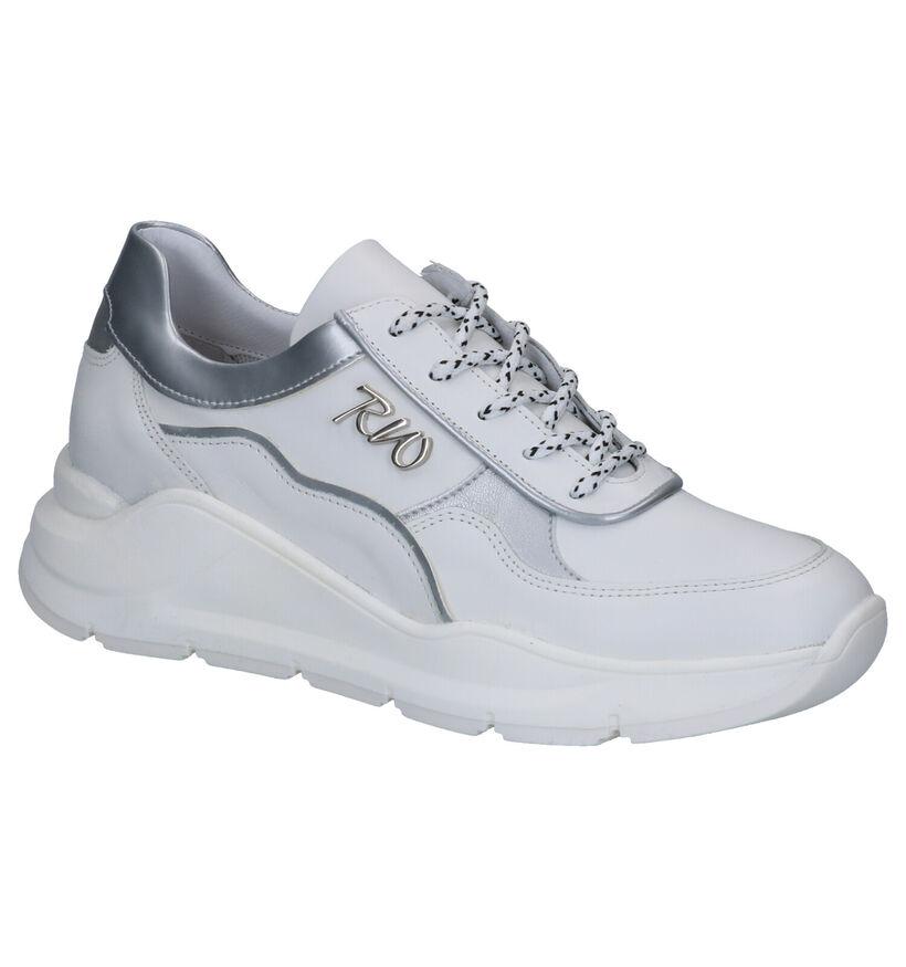 River Woods Alma Witte Sneakers in leer (271170)