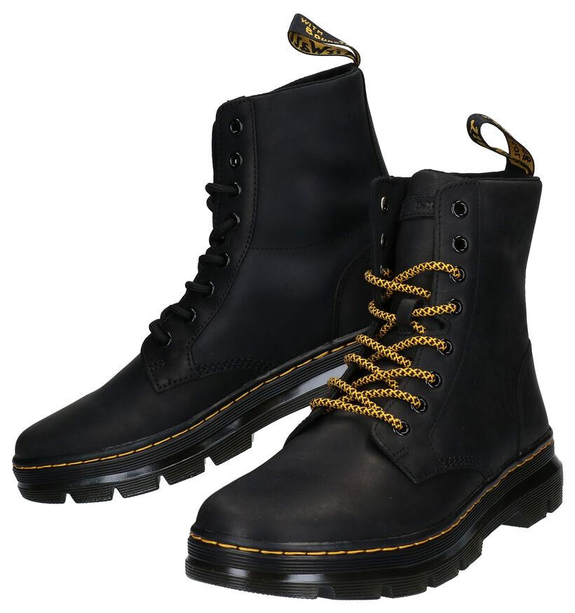 Dr. Martens Zwarte Boots in leer (277092)