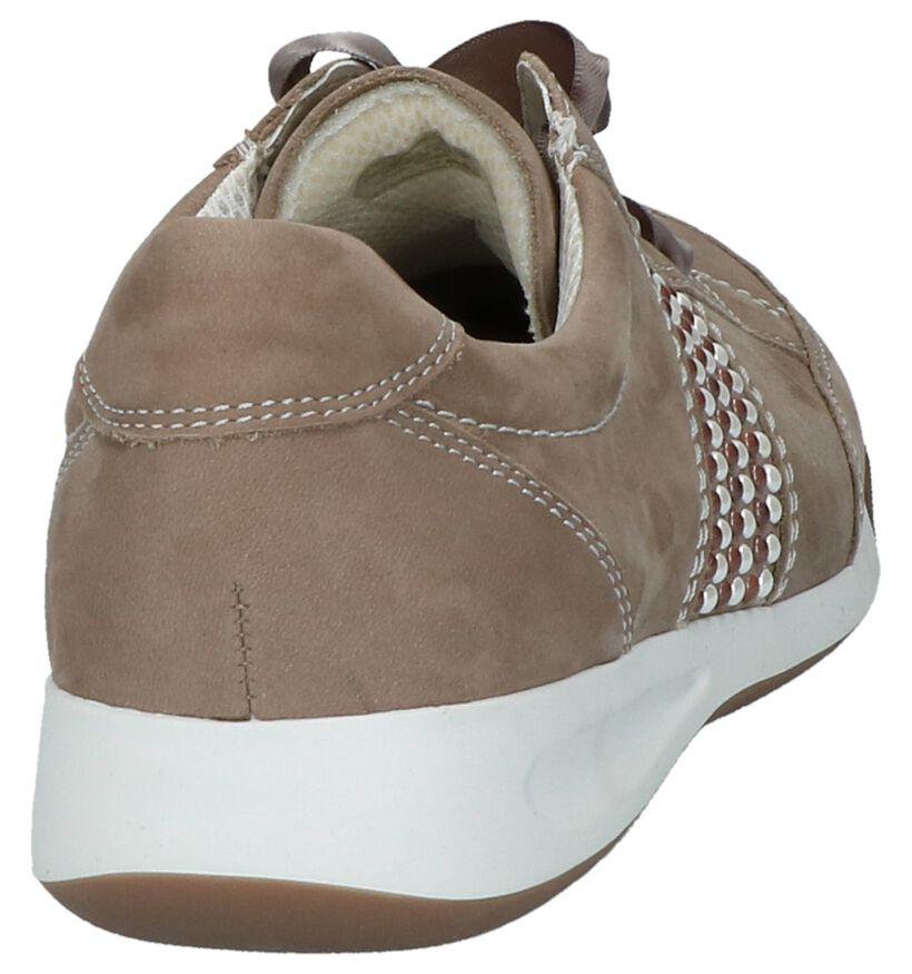 Ara Chaussures à lacets en Taupe en nubuck (217351)