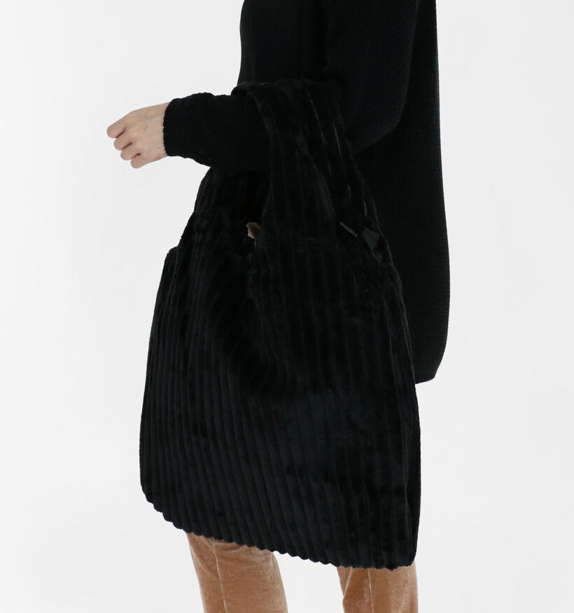 Potri Cabas en Noir en textile (290163)