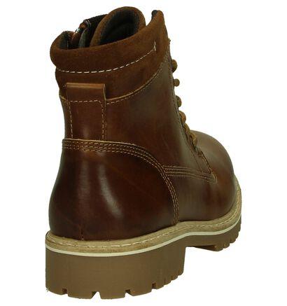 Cognac Ghost Rockers Boots in leer (202363)