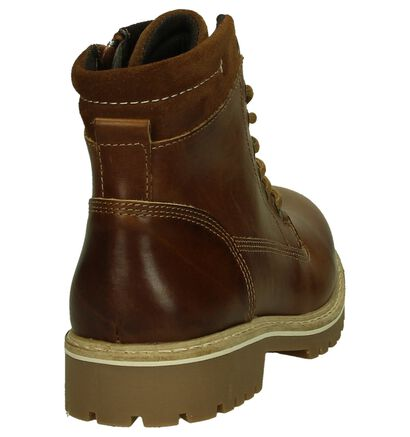 Ghost Rockers Chaussures hautes en Cognac en cuir (202363)