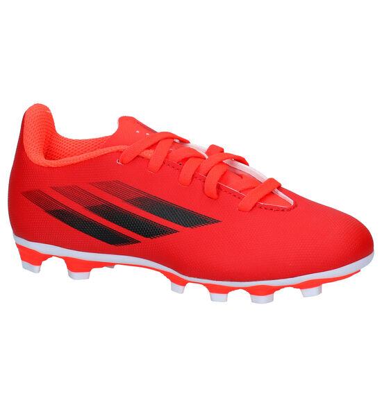 adidas X Speedflow.4 FxG J - Messi Chaussures de foot en Rouge