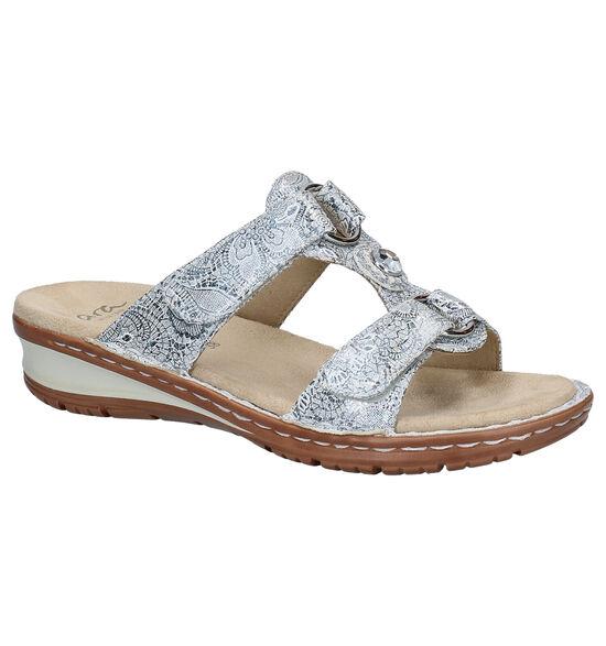 Ara Hawaii Zilveren Slippers