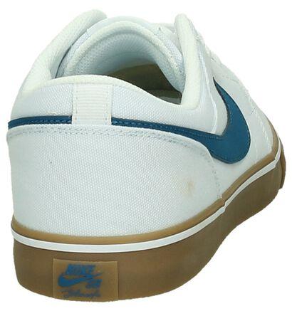 Zwarte Skateschoenen Nike SB Portmore, Wit, pdp