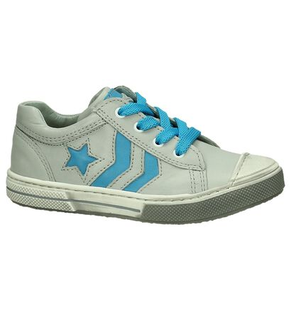 Grijze Sneakers Rits/Veter Stones and Bones Clean, Grijs, pdp