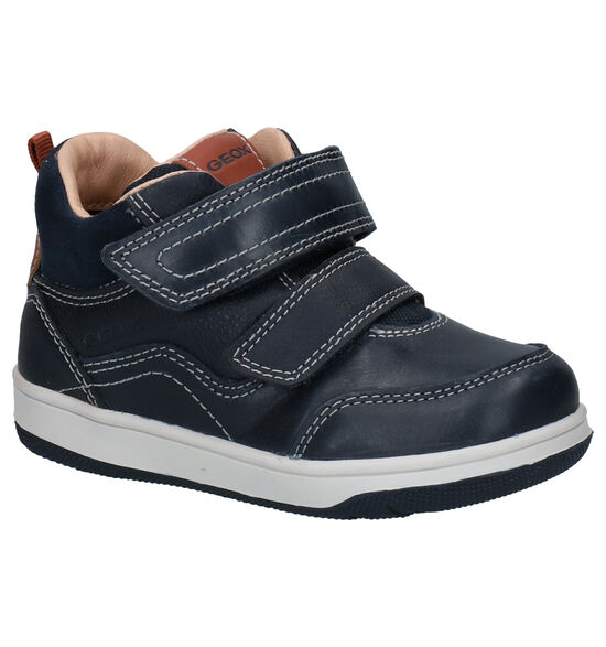Geox Blauwe Velcroschoenen