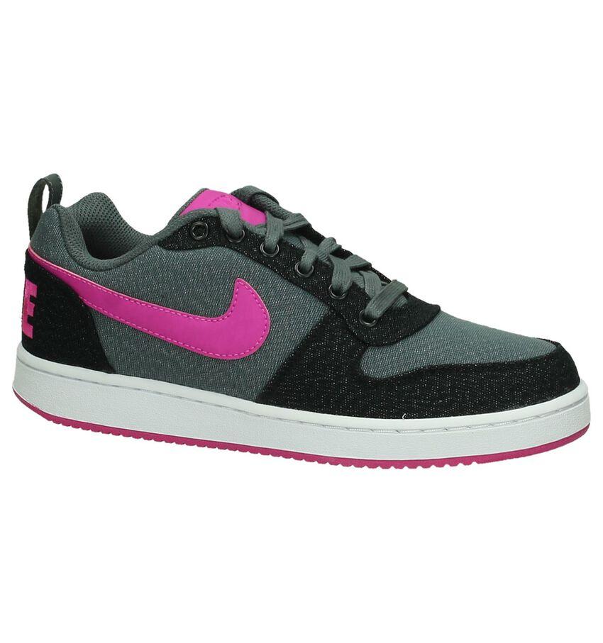 Grijs/Roze Sneaker Nike Court Borough