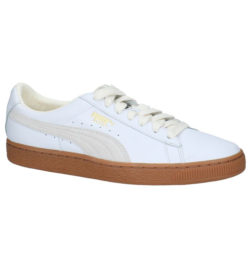 Puma Basket Classic G Sneakers Wit