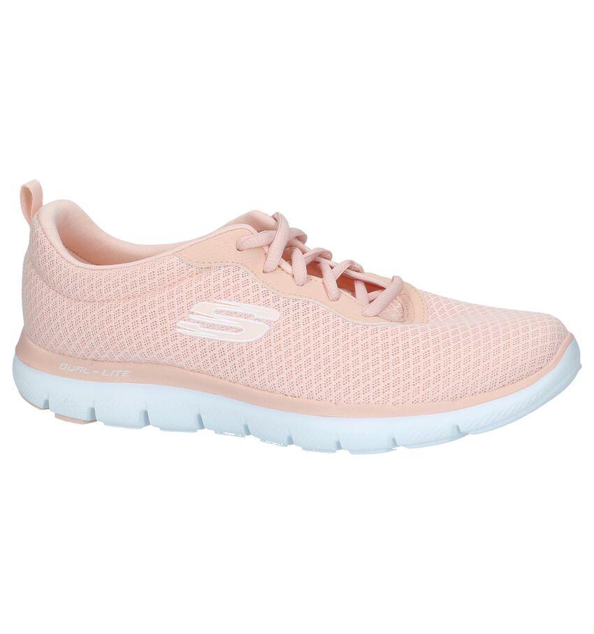 Roze Lage Sportieve Sneakers Skechers Flex Appeal
