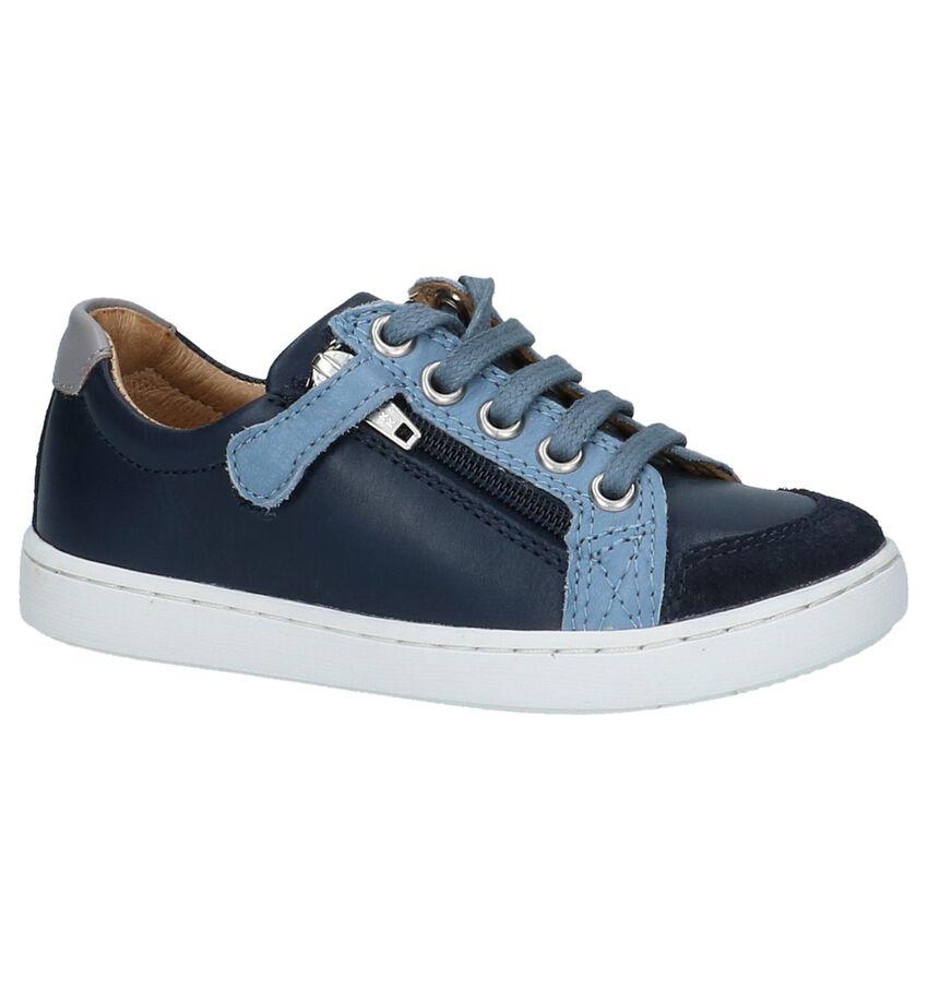 Schoenen met Rits & Veter Blauw Shoo Pom Play Lo Bi Zip