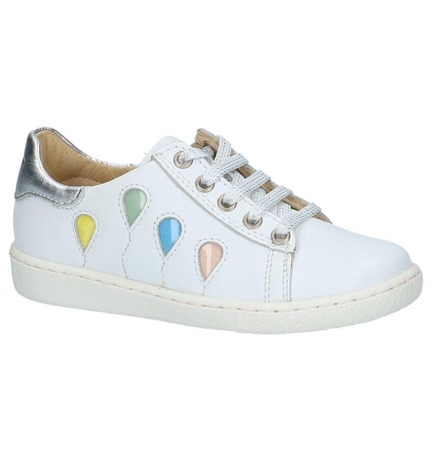 Shoo Pom Ducky Balloon Witte Rits/Veter Schoenen