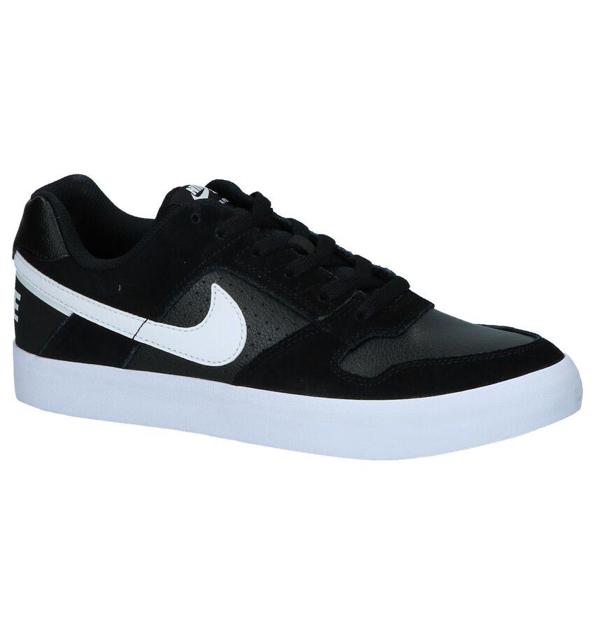 Nike SB Delta Force Zwarte Lage Sportieve Sneakers