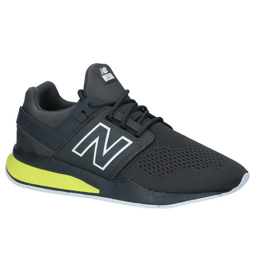 Donkergrijze Lage Sportieve Sneakers New Balance KL 247