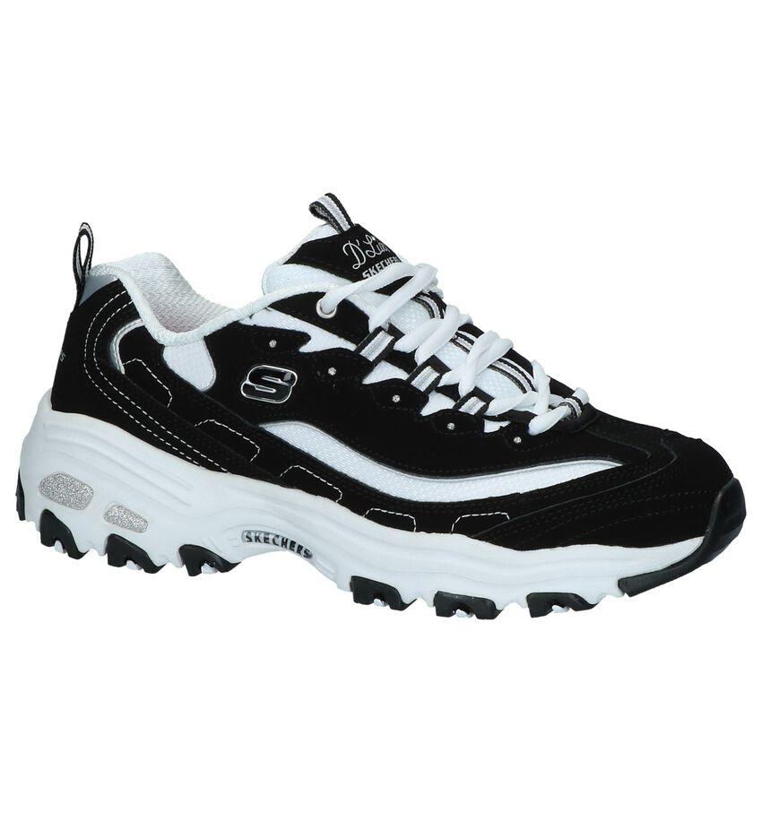 Zwarte Sneakers Skechers D'Lites