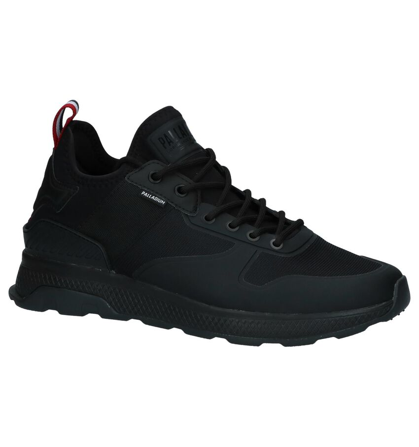Zwarte Palladium Lage Sneakers