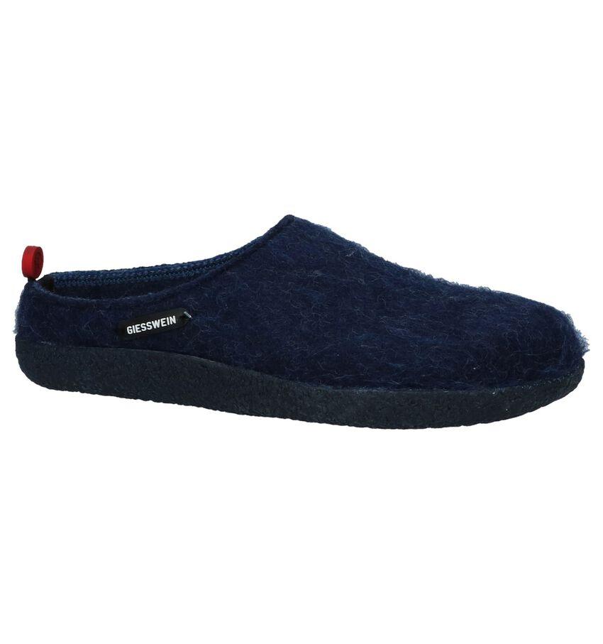 Donkerblauwe Pantoffels Giesswein Vorbach