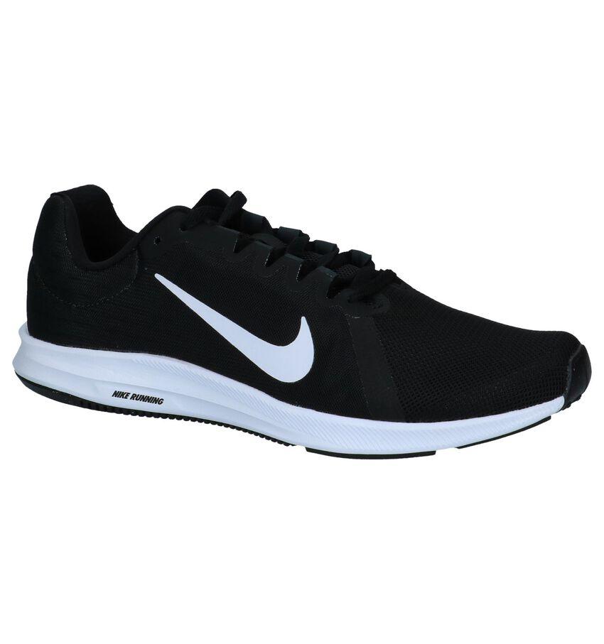 Nike Downshifter Lage Sneakers Zwart