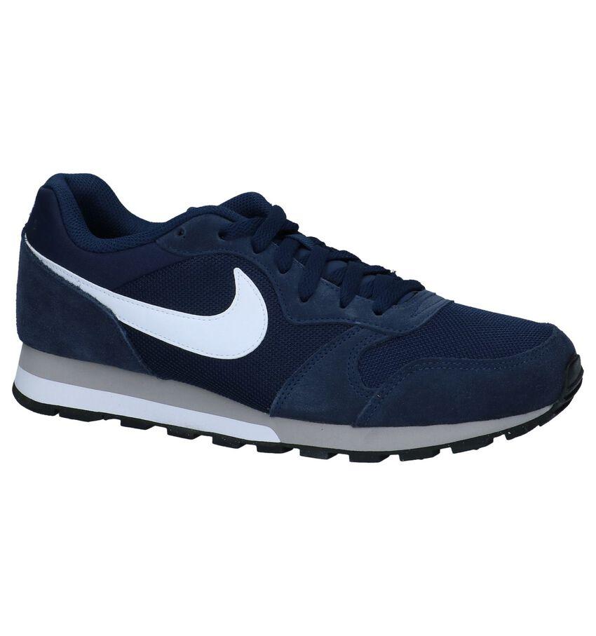 Donkerblauwe Sneakers Nike MD Runner 2