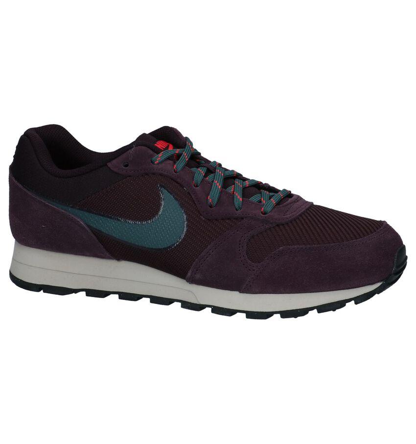 Paarse Sneakers Nike MD Runner 2