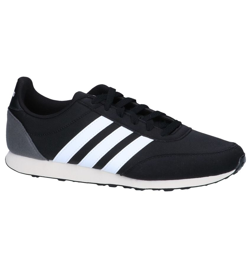 Zwarte Sneakers adidas V Racer 2