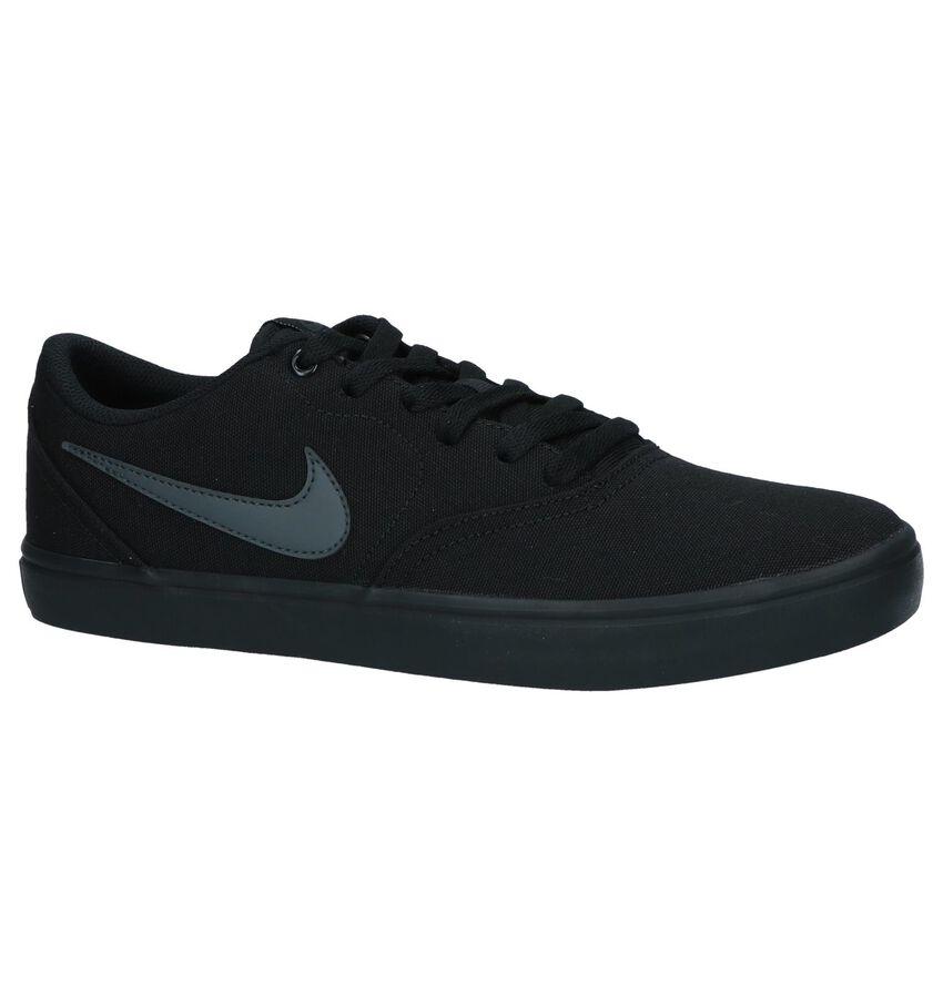 Zwarte Sneakers Nike SB Check Solar
