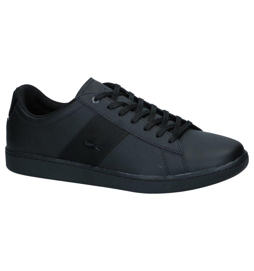 Zwarte Sneakers Lacoste Carnaby Evo
