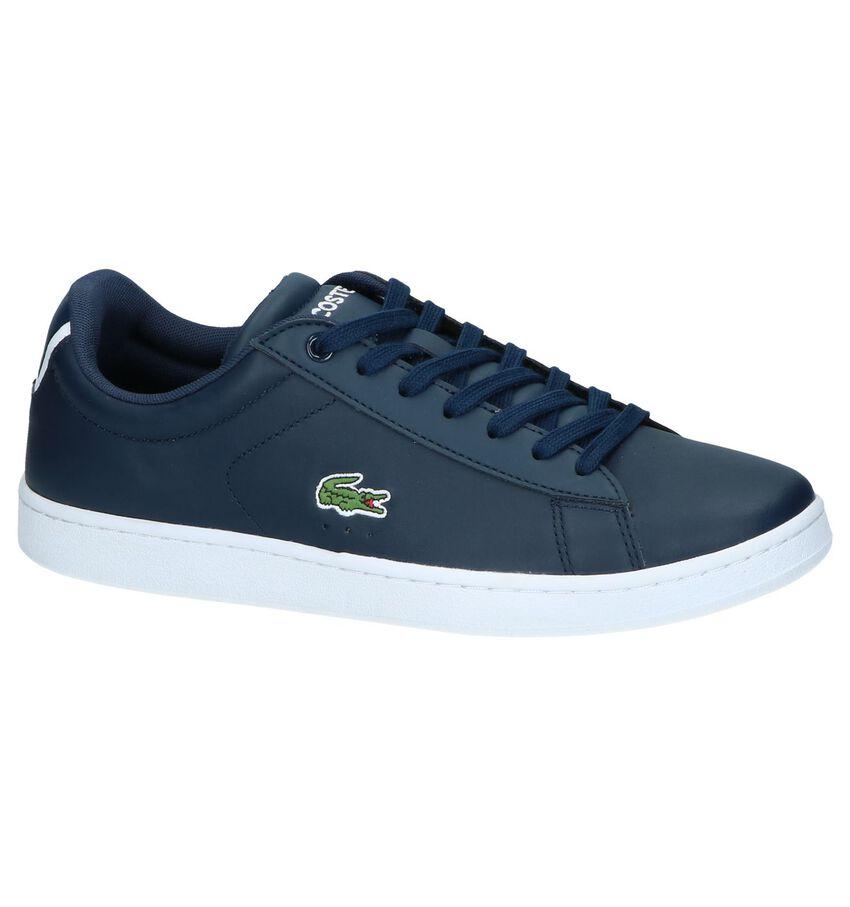 Donkerblauwe Sneakers Lacoste Carnaby Evo