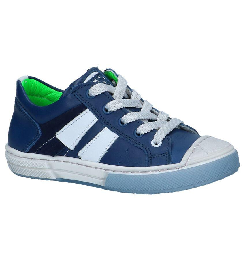 Donkerblauwe Casual Schoenen STONES and BONES Rosco