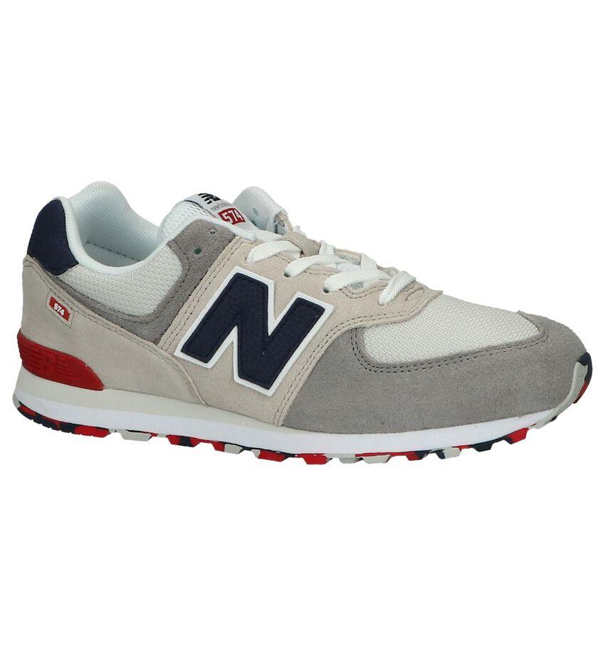 Lichtgrijze Sneakers New Balance PC574
