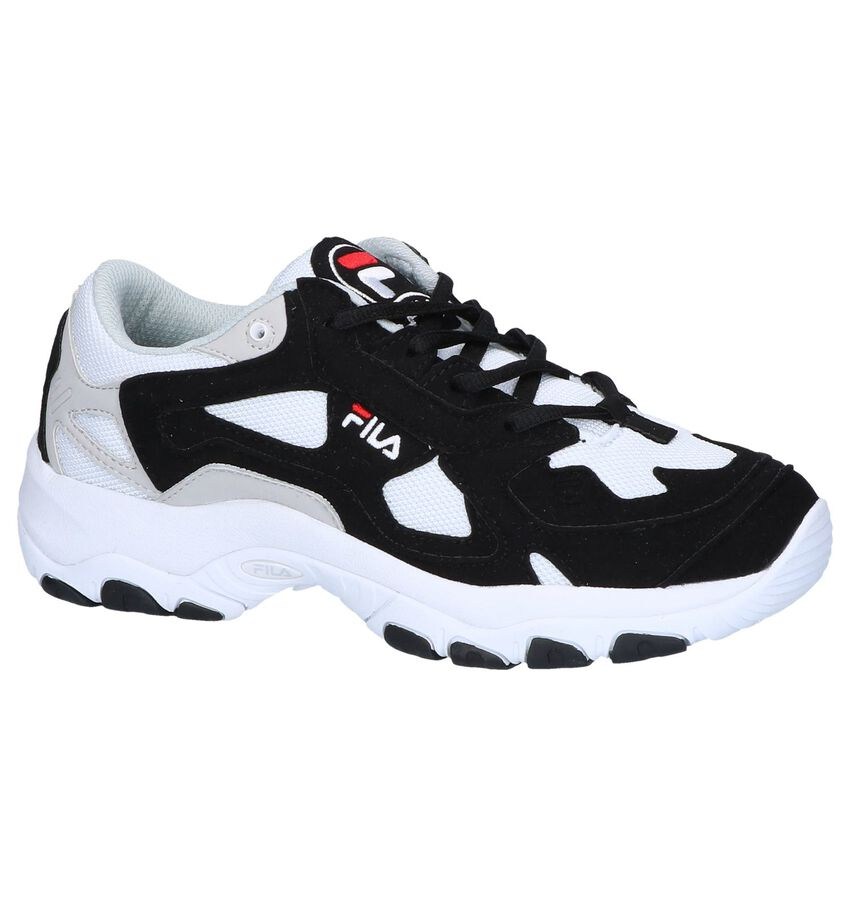 Fila Select Low Zwarte Sneakers