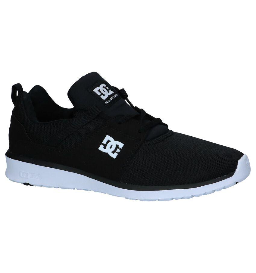 Zwarte Sneakers DC Shoes Heathrow
