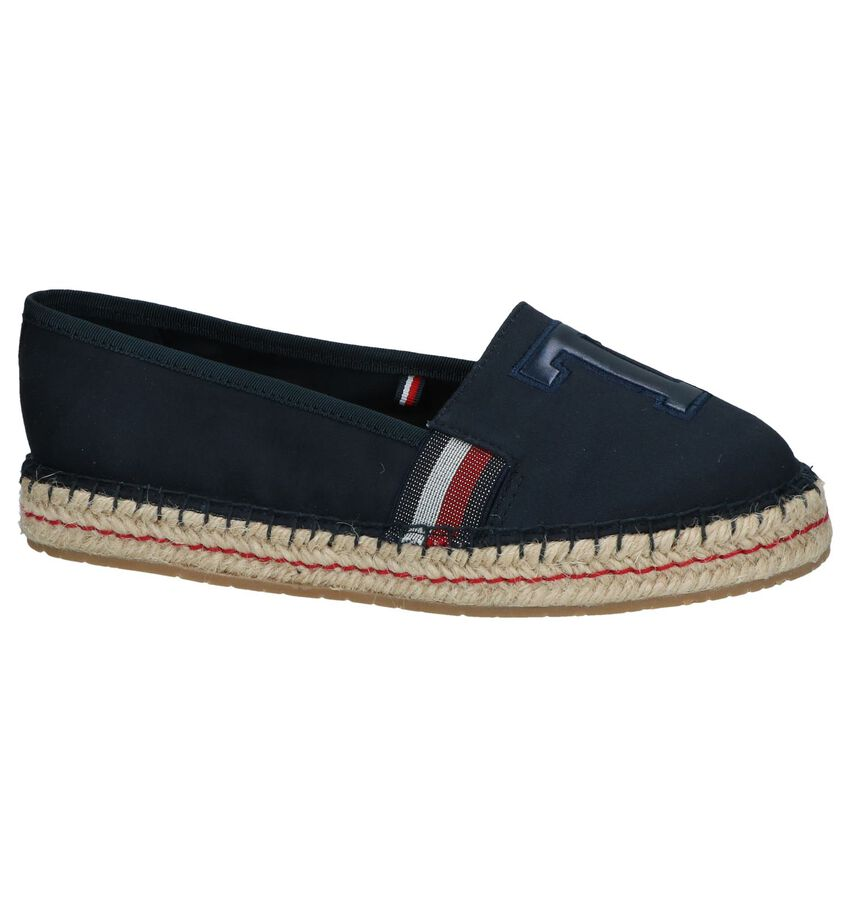 Donkerblauwe Espadrilles Tommy Hilfiger TH Patch