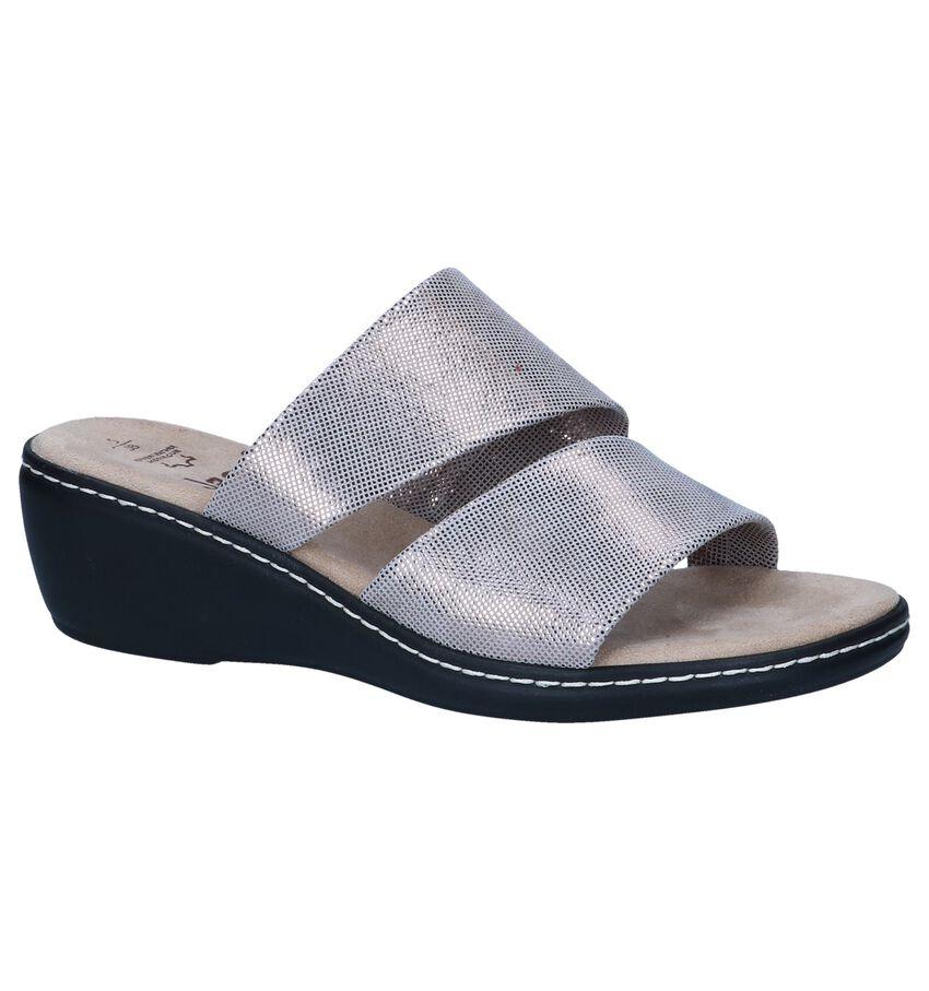 Zilveren Slippers Jana