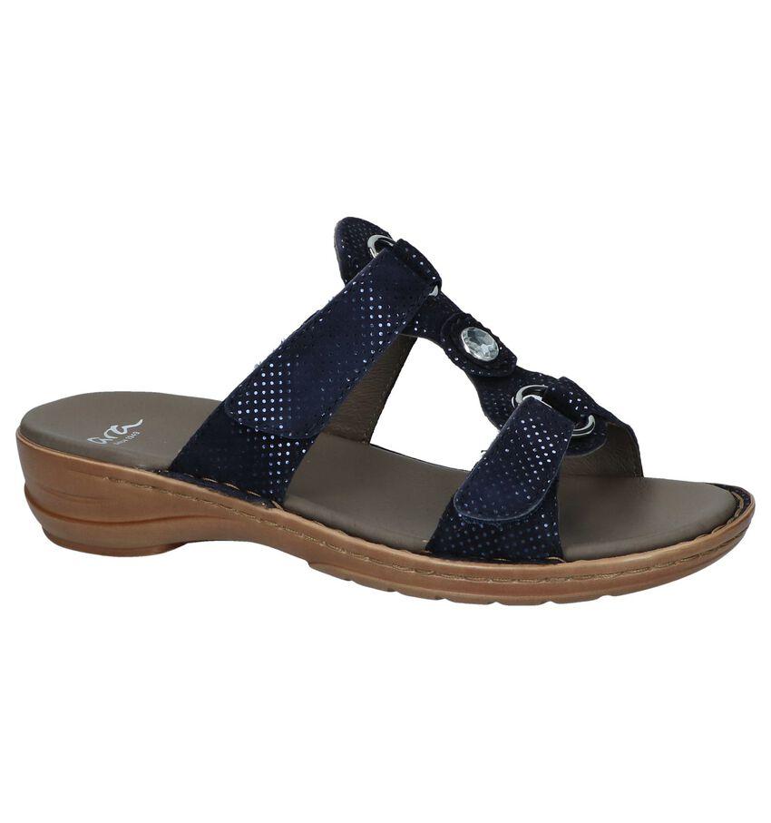 Donkerblauwe Slippers Ara Hawaii