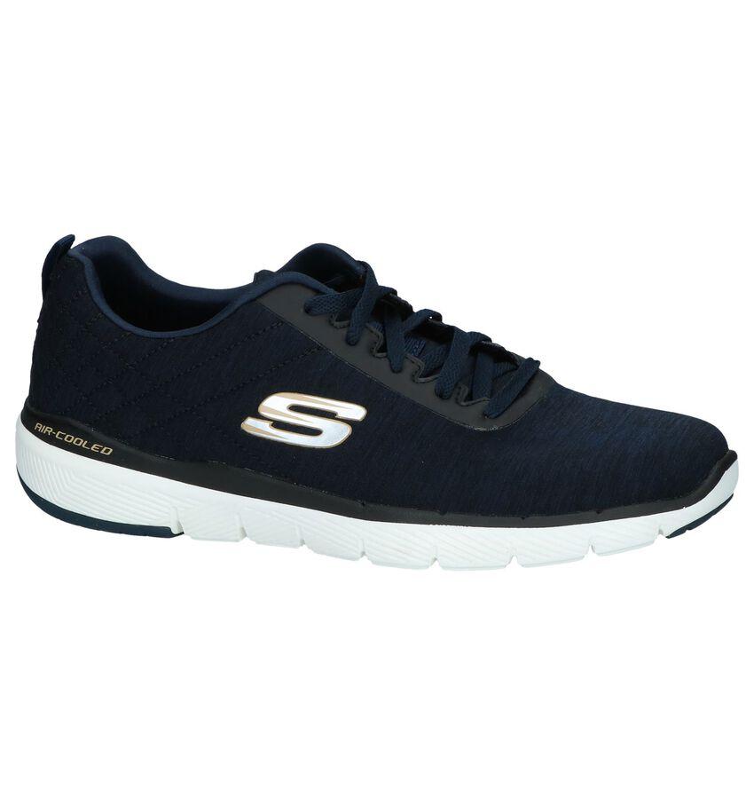Donkerblauwe Sneakers Skechers Lite-Weight