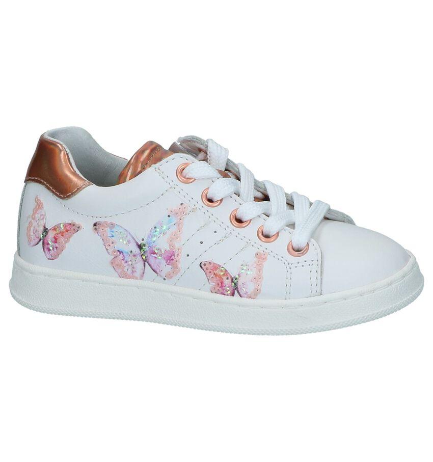 Witte Schoenen met Rits/Veter Kipling Genova