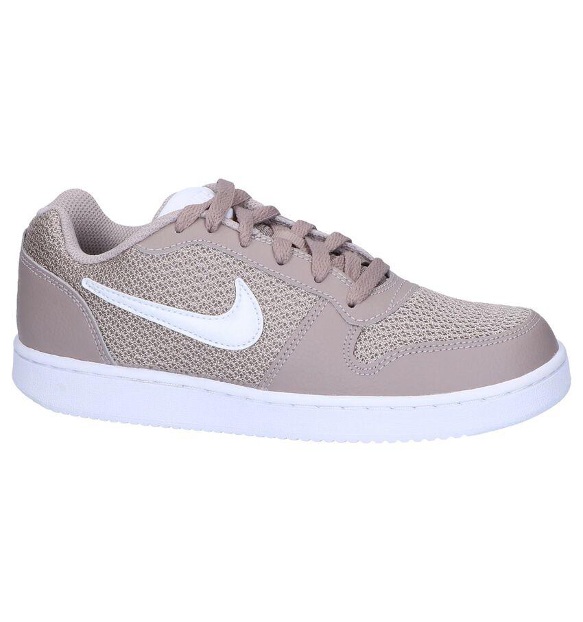 Taupe Lage Sneakers Nike Ebernon