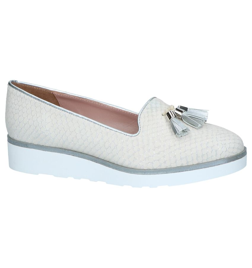 Witte Loafers Via Limone by Torfs