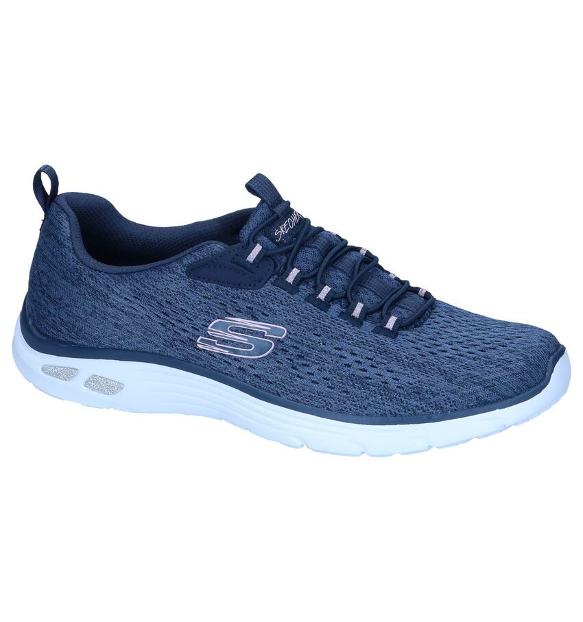 Blauwe Sneakers Skechers Empire